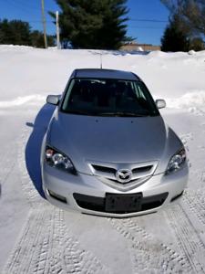 Nice Clean 2007 Mazda 3 Sedan