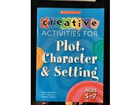 Plot Character and Setting Book for 5-7 Year Olds
