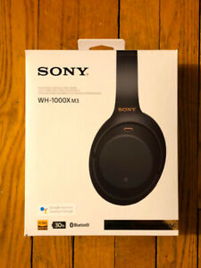Sony 1000XM3 - the best wireless noise cancelling headphones