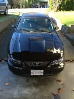 2000 Ford Mustang BLACK 5 SPEED LOTS OF UPGRADES