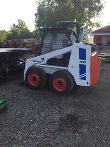 743b bobcat with new tires