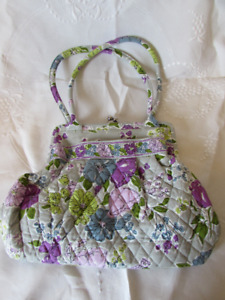 Vera Bradley Quilted Watercolour Purse