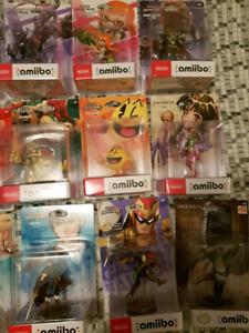Amiibo et jeux rare nintendo switch