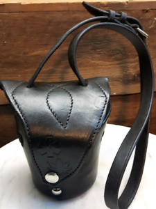 New leather Cannabis carrier