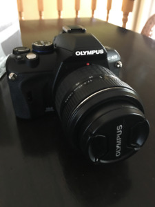 Olympus E-420 with Camera Bag