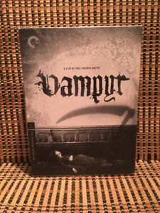 Vampyr (2-Disc DVD, 2008)Criterion Collection #437.+OOP Book