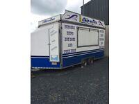 Chip van catering trailer
