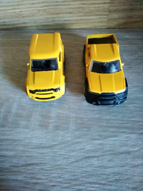 2 teamsters die cast model vechicles . excellent condition