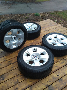 Winter tires and rims from BMW X3