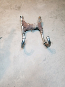 1982 Honda GL500 headers and mixing chamber and exhaust collars