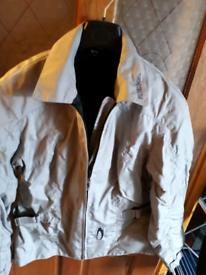 Richa lightweight armoured motorcycle jacket.