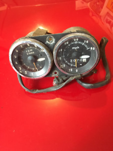 Skiroule Speedo and Tach