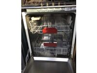 Neff integrated dish washer