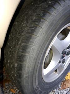 Pontiac Montana rims and tires