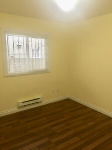 Two bedroom basement suite available for rent now