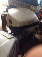 5 outboards Johnson/Evinrudes 6hp-18hp