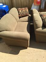 Couch and love seat must go