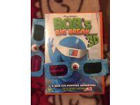 Bobs big break DVD with 2 3D glasses