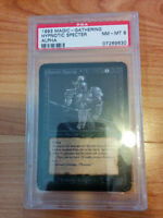 Hypnotic Specter Alpha Becket 8 Magic the Gathering Graded