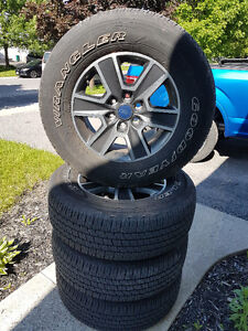 F-150 rims and Goodyear 275/65R18