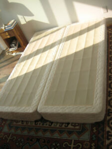 "2 x BED BOXES ""POSTUREPEDIC SEALLY"" - Queen Size together"