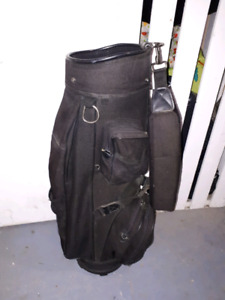 Knight golf bag and putter