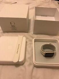 Apple Watch Stainless steel 38mm white sport B