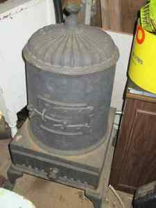ANTIQUE PARLOR STOVE~~~MADE IN SACKVILLE N.B.