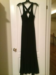 Lady's long black dress perfect for grad & formals new with tags Oakville / Halton Region Toronto (GTA) image 4