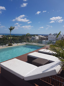Apts with swimming pool and gym in Playa del carmen