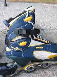 Roller blades Bauer for boys, brand new.  Size 8 US West Island Greater Montréal image 5