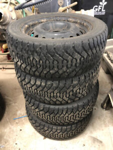 09 Ford Fusion Snow Tires