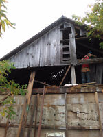 Barn removal and board for sale