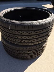 "20"" Low Pro Tires Almost Brand New 20"" Windsor Region Ontario image 7"