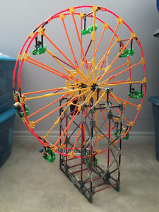 K'Nex Motorized Electronic Ferris Wheel with 8 Figures