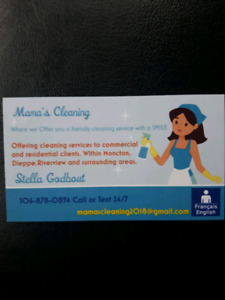 Mama's cleaning services now taking on new clients