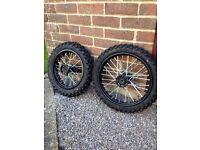 Pit bike wheels
