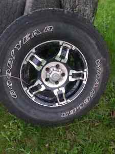 4 rimes 16 for GMC  (tires not good )