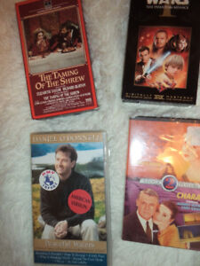 several older movies, 2.00 each -all in good condition.