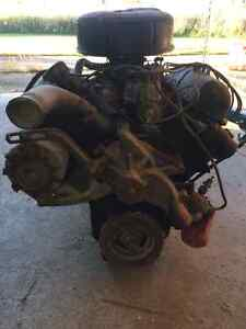 352 Ford engine and 3 speed trans with carb London Ontario image 3