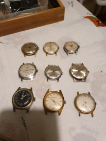 Vintage Watch Joblot/Collection Wanted
