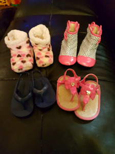 Size 2 girls infant shoes