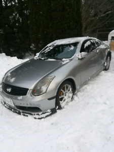 2003 g35 coupe 6 speed manual