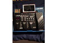 Boss me-25 guitar multi effects pedal
