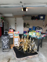Multi Family Fundraising Garage Sale Sept. 17 From 9:00-4:30