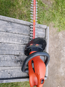 Black &Decker  Hedgehog hedge trimmer.