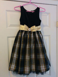 Girl's Holiday Party Dress - size 10