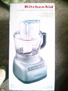 Food Processor - Kitchen Aid 9 cup