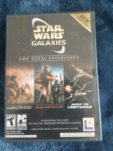 Star Wars Galaxies the total experience PC