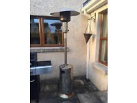 Gas patio garden patio heater with gas cylinder